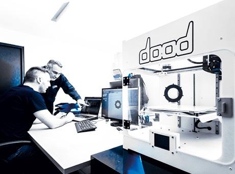 Bureau d'étude méca avec imprimante 3D