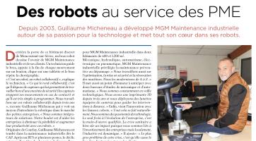Robot collaboratif MGMaintenance